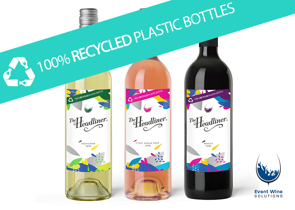 Event Wine Solutions moves to 100% recycled rPET bottles